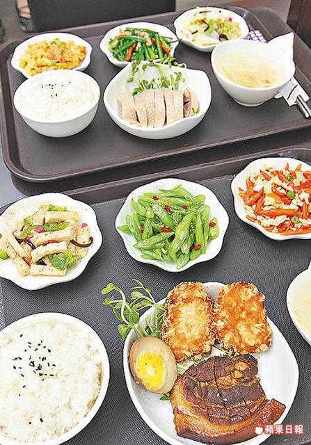 【蘋果日報】心智障礙者賣便當 食客「揪感心」 代表圖