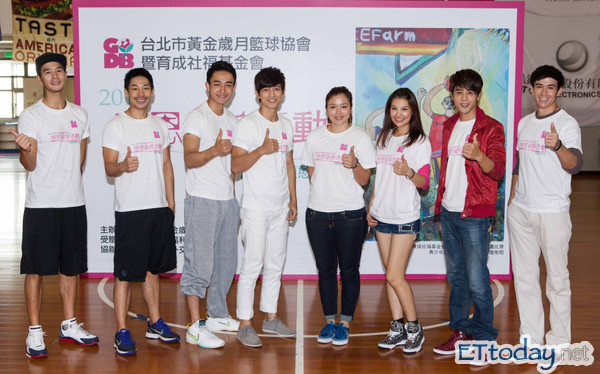 【ETtoday】胡宇威、林若亞有愛心! 陪育成小朋友吃感恩節火雞餐 代表圖
