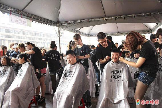 【台北都會】台北市尚洋國際髮型集團兩百名設計師義剪 送伴手禮 代表圖