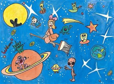 【人間福報】 畫畫是夢想的翅膀育成:創作多童趣 達高手境界 代表圖