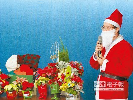 【中國時報】迎耶誕 花獻祝福有禮了 代表圖