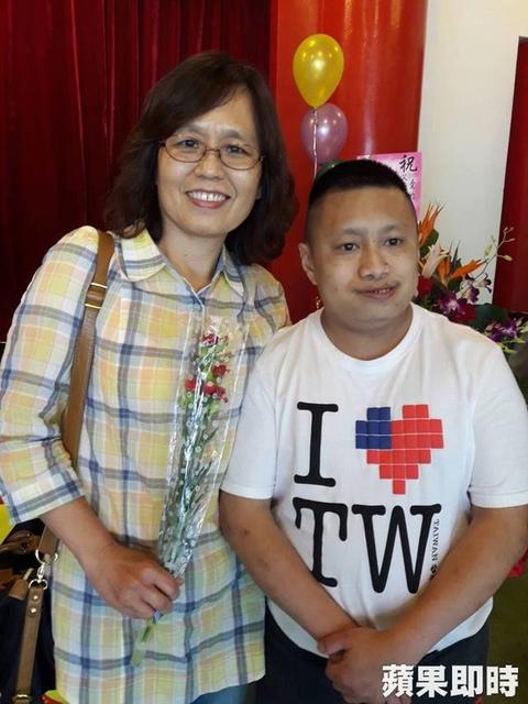【蘋果日報】育成母親節親子活動 憨兒想帶媽媽出國遊 代表圖