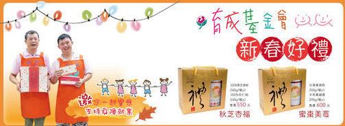 【新春禮盒】育成基金會新年禮盒預購中 好運旺旺來 代表圖