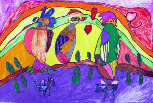 愛與希望彩虹花園