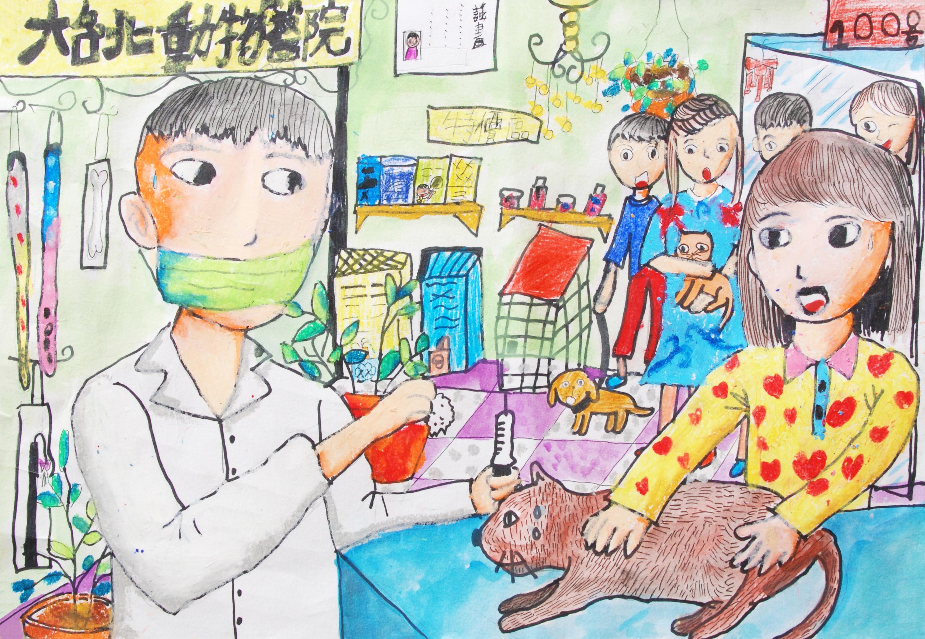 兒童組 第三名 陳冠言