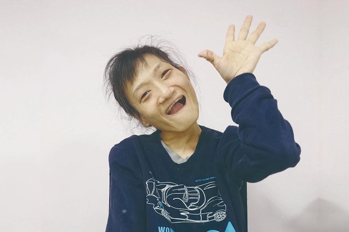 108年度英雄榜-蕭亞君 大家的好朋友 代表圖