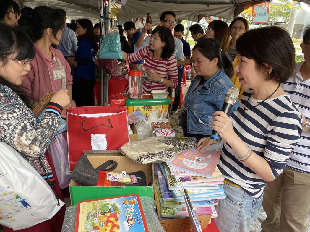【經濟日報】台灣東洋公益義賣 捐贈育成基金會 代表圖