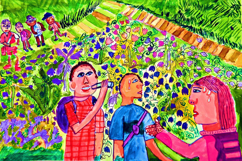 青少組-佳作獎 生日的幸福願望-走向大自然