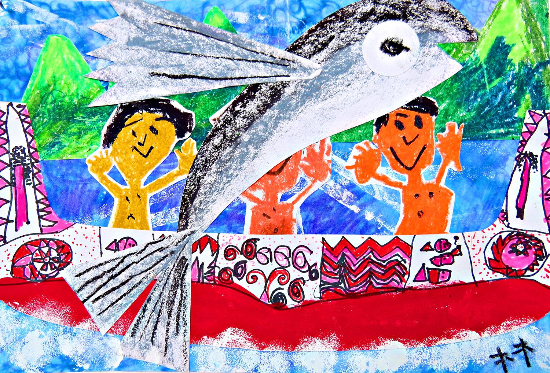 兒童組-佳作獎 飛魚季