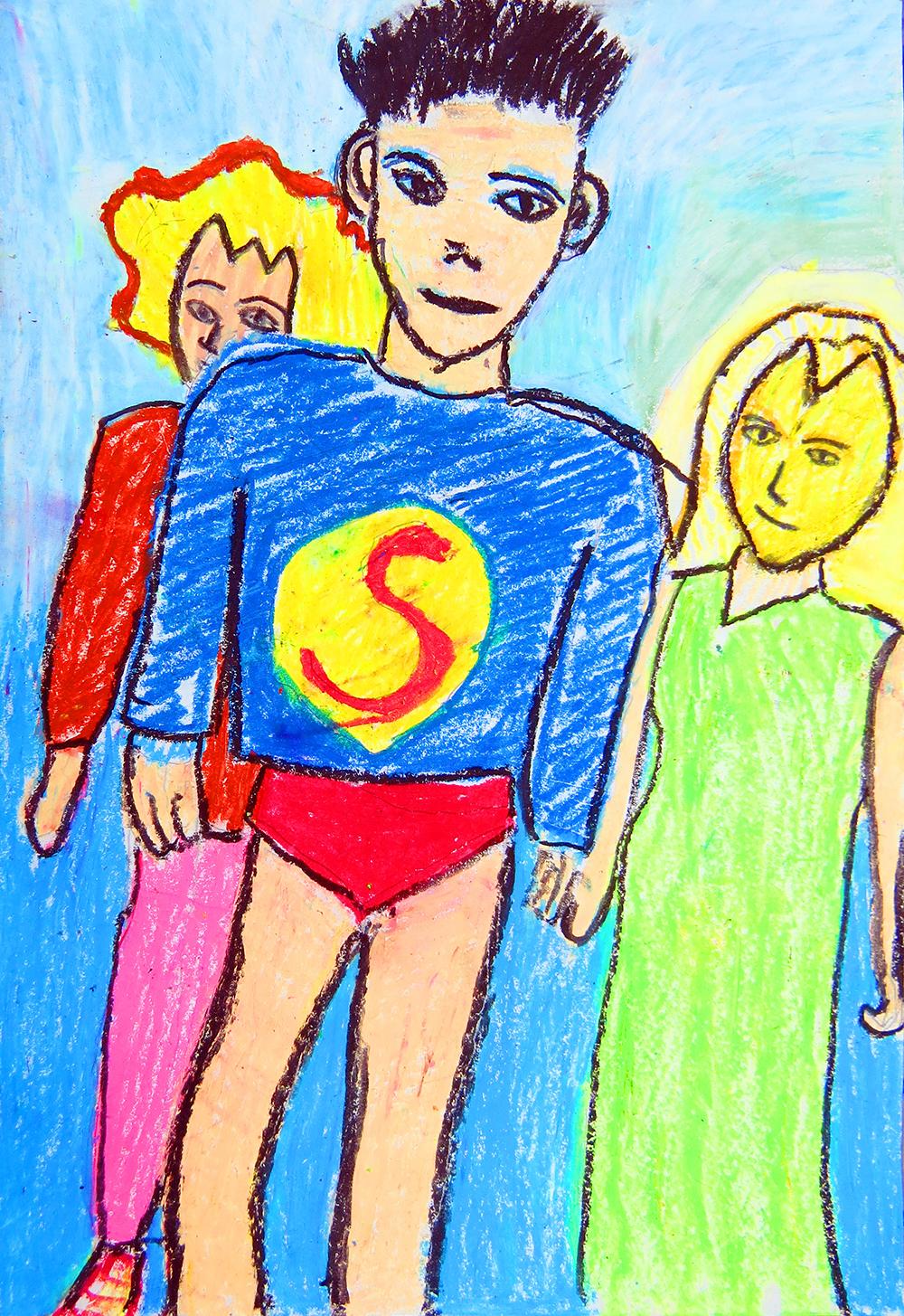 成人組-入選獎 我是Superman