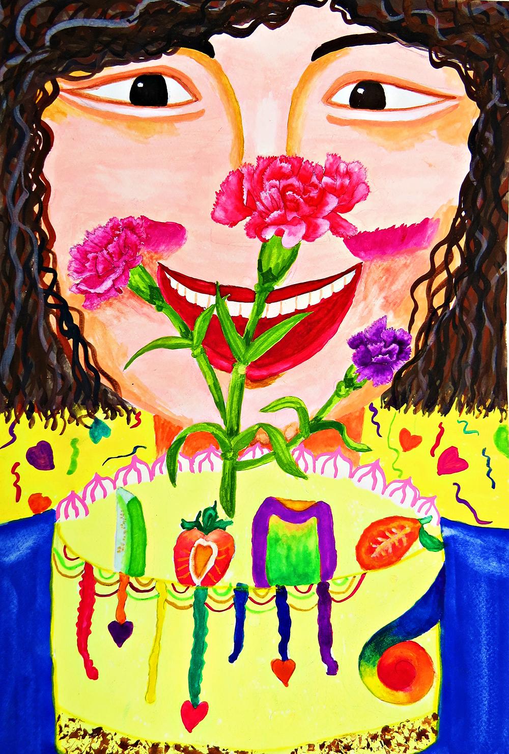 成人組-第一名 最幸福的節日-母親節