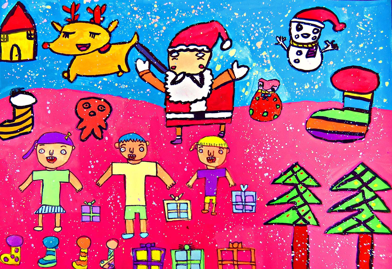 青少組-入選獎 聖誕節的幸福時光