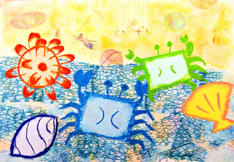 兒童組-入選獎 形狀海洋生物