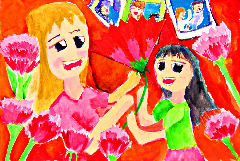 兒童組-優等獎 最幸福的節日