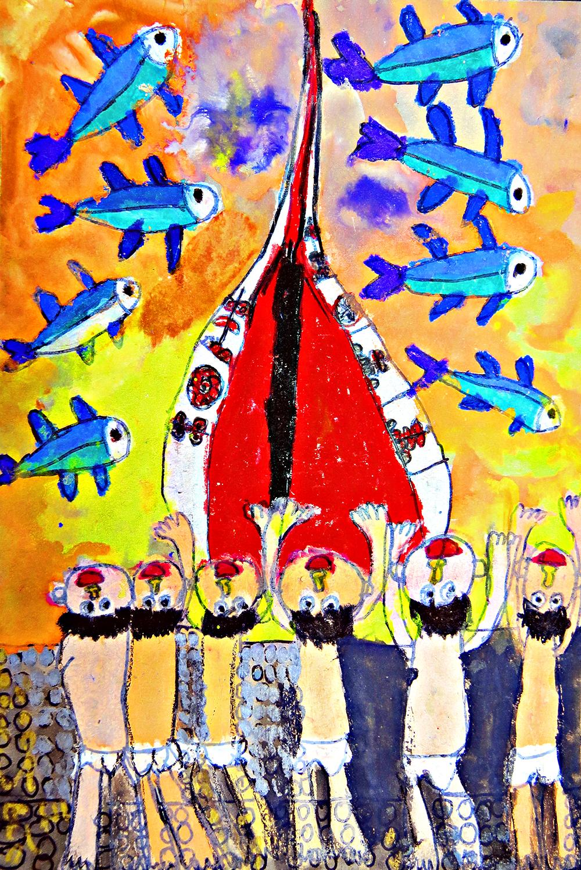 青少組-入選獎 參加蘭嶼飛魚季