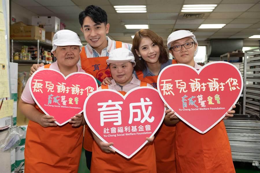 【中時新聞】女力報到-陳謙文攜手「女友」做公益月餅 代表圖